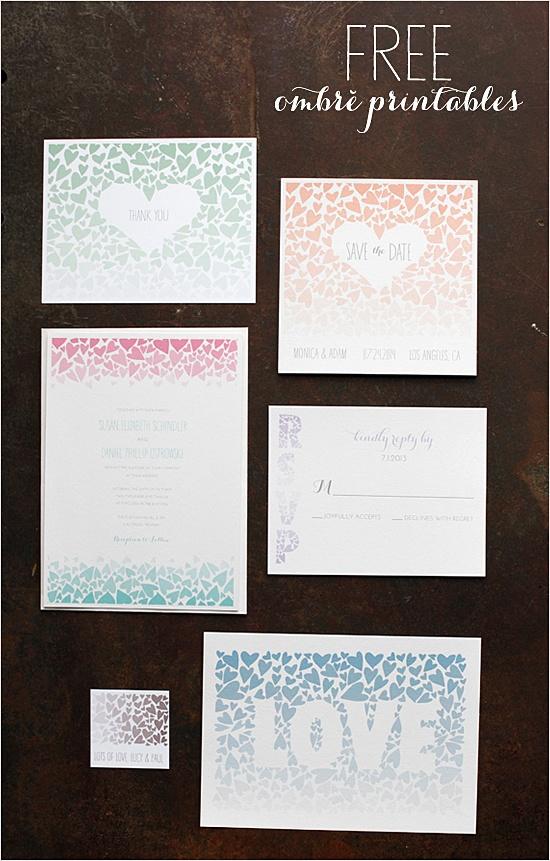 Free Wedding Printables