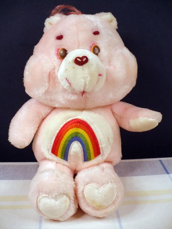 This was my Care Bear (Cheer Bear)
