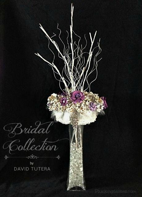 DIY Paper Flower Centerpiece