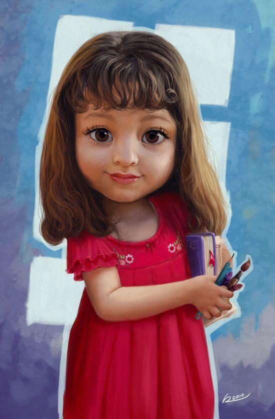 25 Stunning Digital Illustrations and Character Designs by Salvador Ramirez Madriz. Follow us www.pinterest.com...