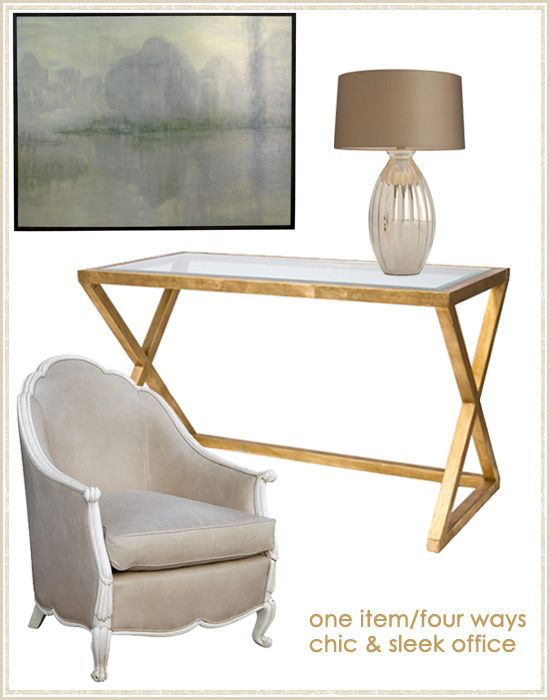 Oly Chair in Office @LaylaGrayce #laylagrayce #blog #home #interiordesign