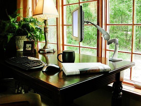 Classic home #office design idea
