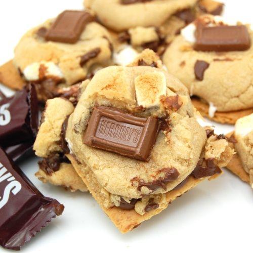 Graham Cracker S'mores Cookies