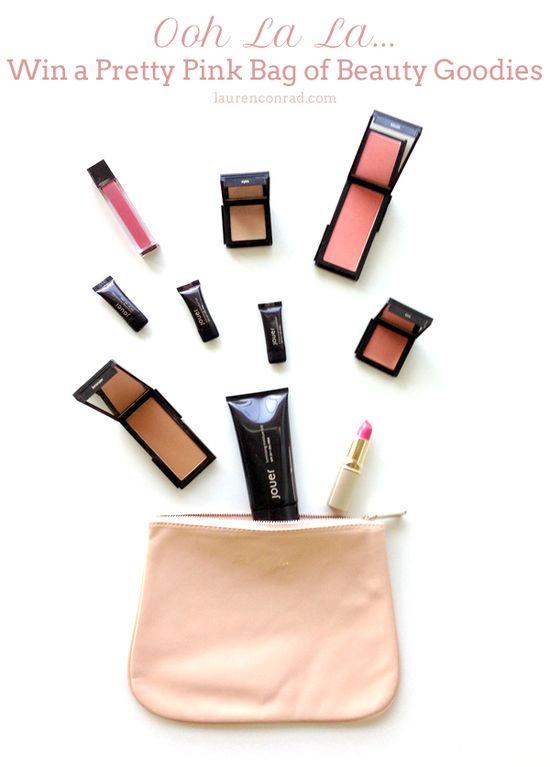 """Giveaway: Win This """"Ooh La La"""" Bag of Pretty Makeup Goodies {click for details}"""