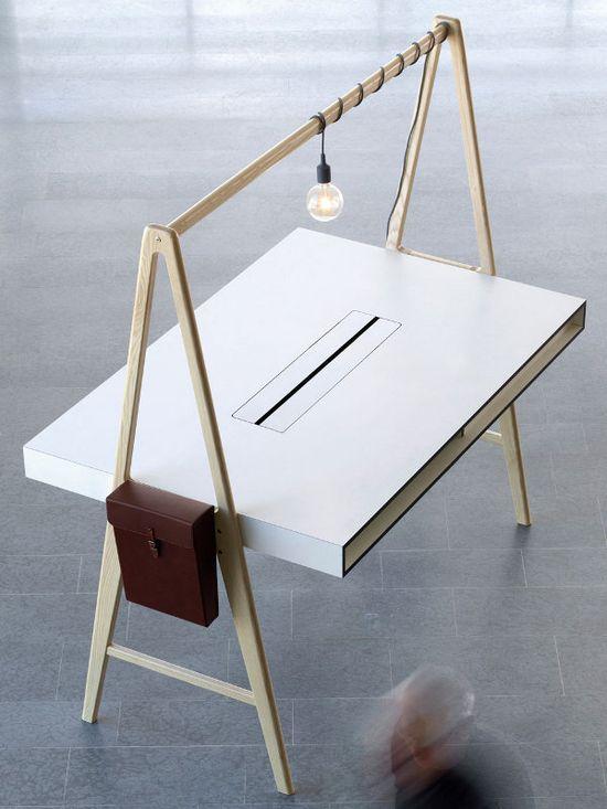 Rectangular office desk A