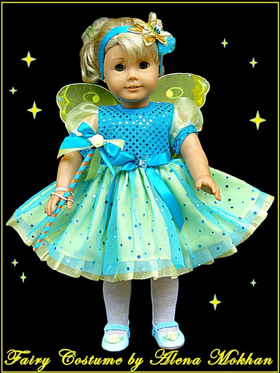 Disney Fairy Costume  American Girl or other by BestDollBoutique, $36.00