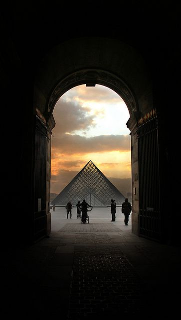 The Louvre, Paris #travel #europe Visit www.hot-lyts.com to see more background images