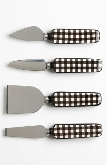 Jessie Steele® for Magenta 'Café Toile' Ceramic Cheese Knives (Set of 4) available at #Nordstrom