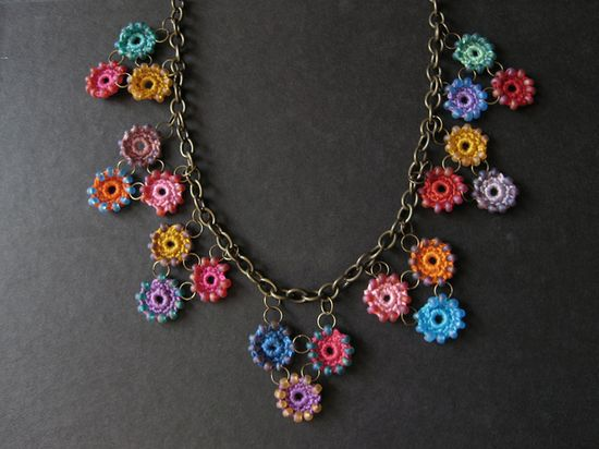 Crochet Necklace Idea