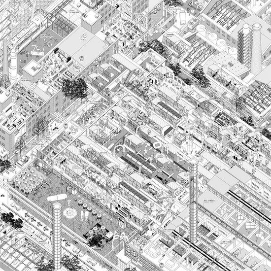 Urbanized Landscape Series by Atelier 11