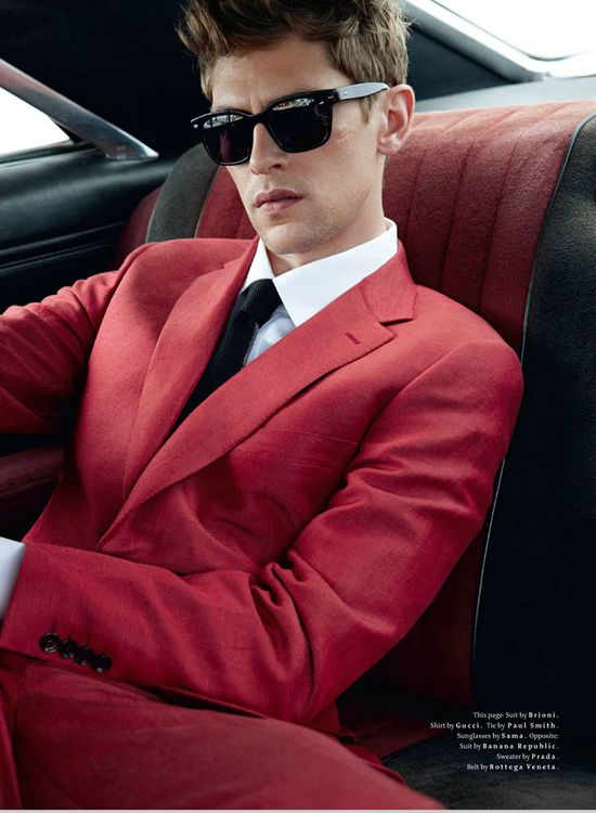 Red 2013 - Men Fashion - Men Suit