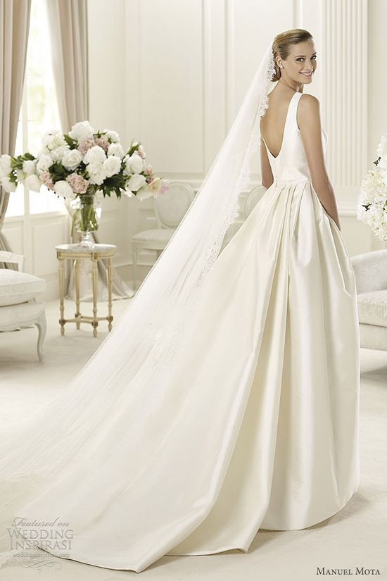 Manuel Mota 2013 Wedding Dresses
