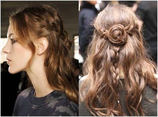 Brilliance #beauty #hair #style #tips #braid #roses