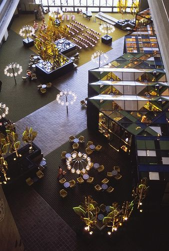 Lobby of the Contemporary Resort, Disney World 1971