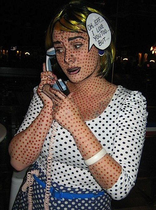 Now this is a creative costume