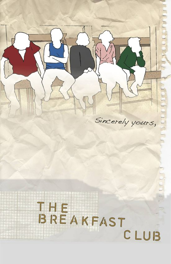 The Breakfast Club - movie poster