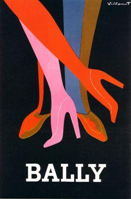 :: Villemot, Bally Legs Noir ::