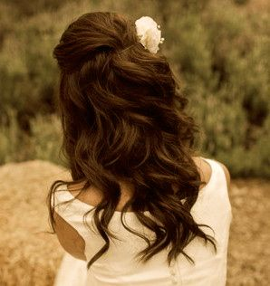 pretty for wedding hair!