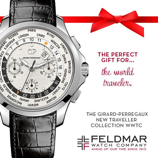 The @Girard-Perregaux New Traveller Collection WWTC