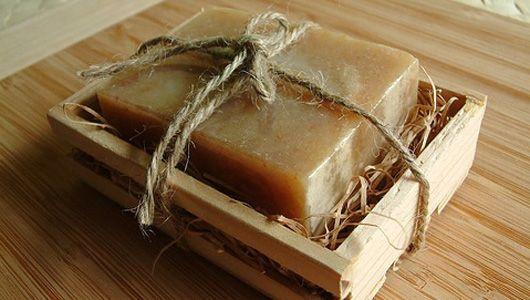 Simple handmade soap