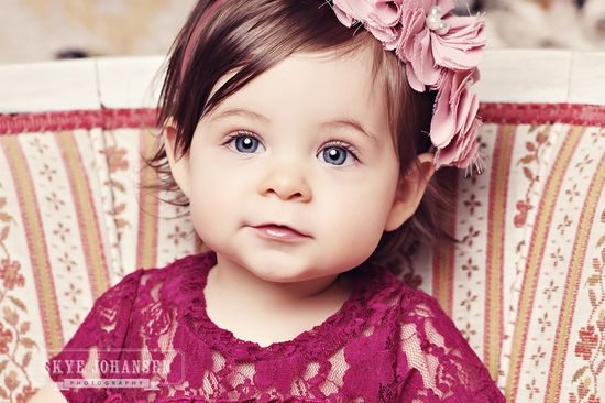 WOW! that's one beautiful baby girl!!!