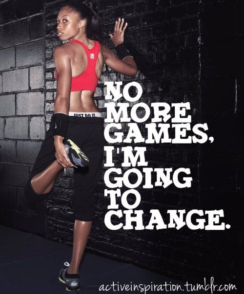 No More Excuses, No More Games.