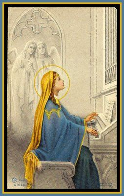 """It is not the actual physical exertion   that counts toward a man's progress,   nor the nature of the task,   but the spirit of faith with which it is undertaken.""    St. Cecilia."