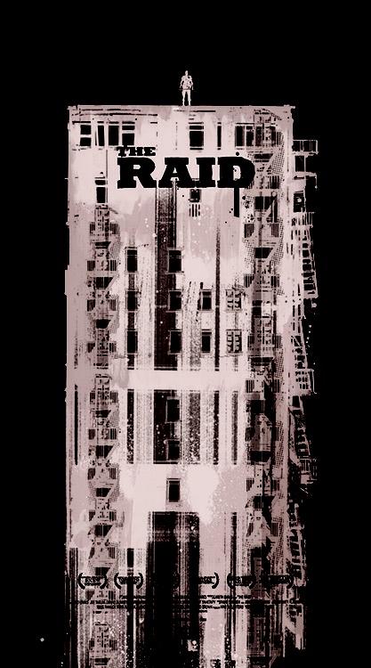 The Raid - movie poster - Jock
