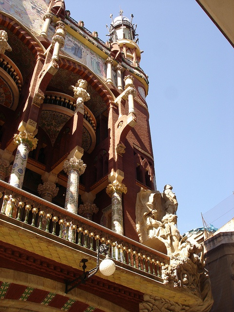 Architectural masterpiece Palau de la Música