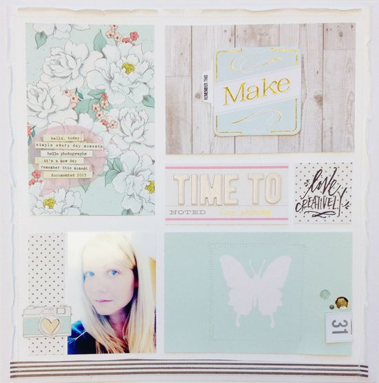 #Scrapbooking #layout Kits, Paper & Supplies, Ideas & More at StudioCalico.com!