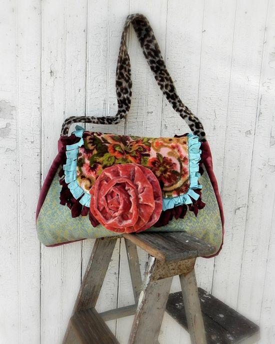 Prairie Couture Carpet Bag  Vagabond Gypsy by FadedPrairieCouture, $145.00