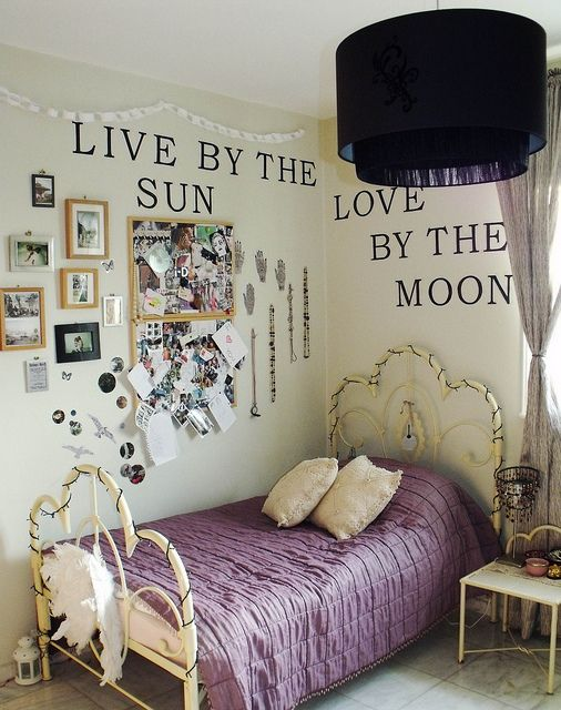 live by the sun, love by the moon. love it