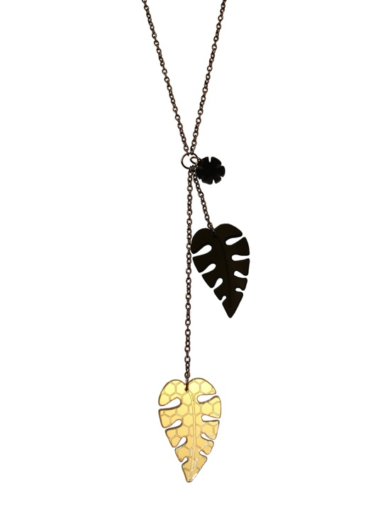 Palm Tree Leaves Necklace Price: £29.99