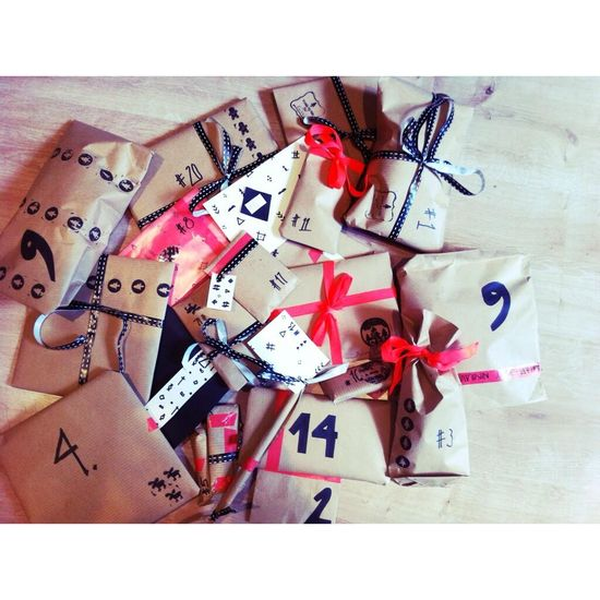 DONE !  #adventskalender #DIY #gift #wrapping