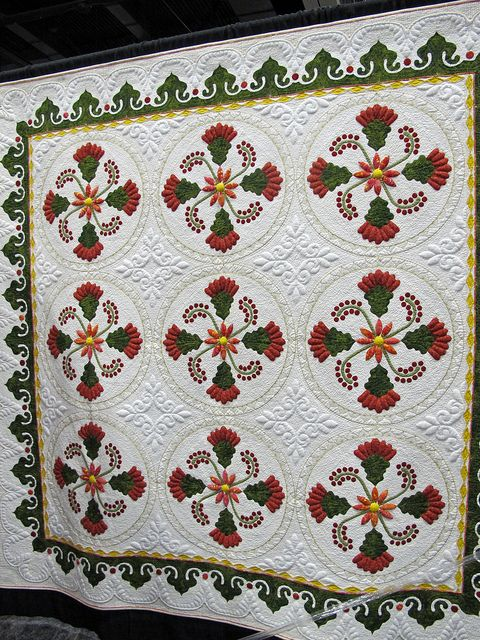 beautiful workmanship  Road to CA 2012 - who is the quilter?