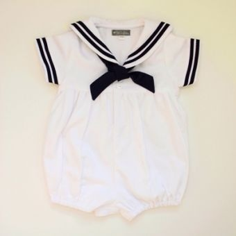 Sailor baby outfit