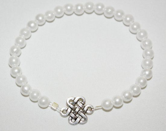Endless Infinite Celtic Knot Stretch Charm by SoJewelrySoYou, $7.00 #endless #Celtic #Irish #charm #bracelet #style #women
