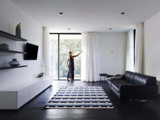 Interior of A-G House in Melbourne, Australia by dKO Architecture