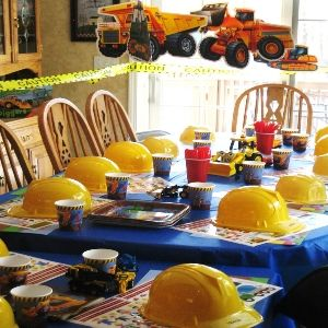 Ideas for construction themed birthday party