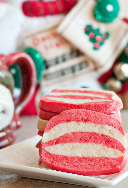 Peppermint Swirl Sugar Cookies