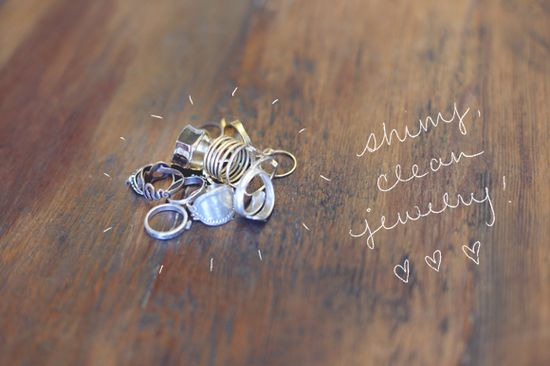Homemade Natural 10-Minute Jewelry Cleaner - Free People Blog