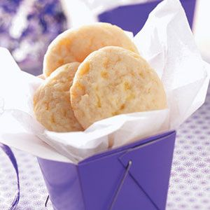 Lemon Drop Cookies Recipe/A Top 10
