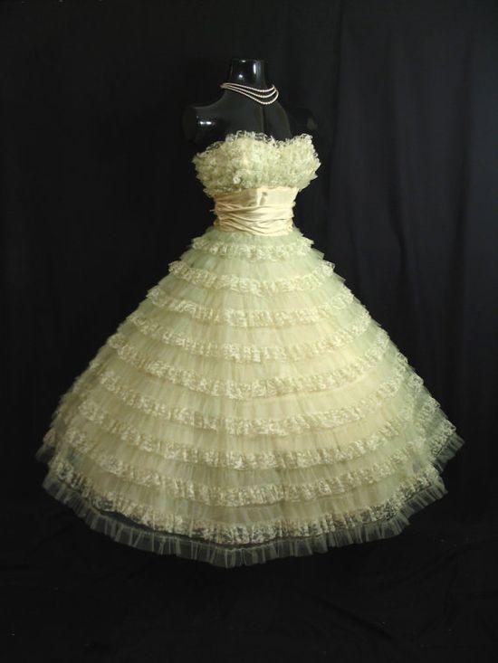 Dress Vintage 1950s