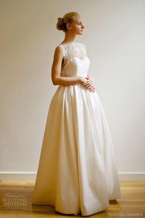 francesca miranda bridal spring 2013 emanuelle wedding dress