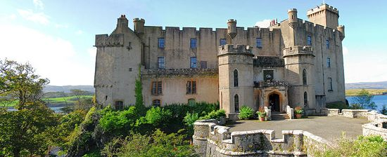 Dunvegan Castle - the home of Clan Macleod on the Isle of sky