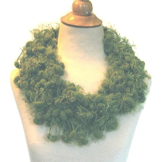 Mistletoe Crochet Scarf Cowl Holiday Gift. $24.00, via Etsy.