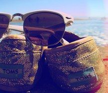 beach, girl, sneaker
