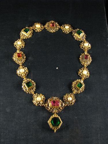 Crown Jewel Necklace.