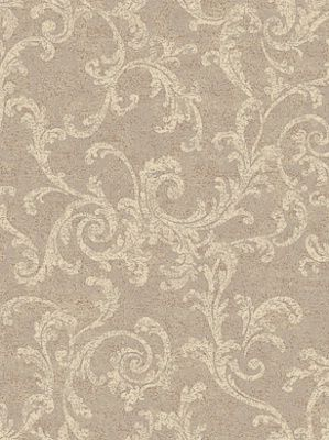 York Wallpaper Textured Scroll $24.50 per roll #interiors #decor #royaldecor