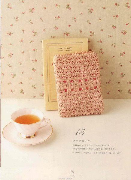 Crochet book cover ideas